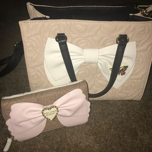 Betsey Johnson Purse and Wallet/Clutch/Mini Purse